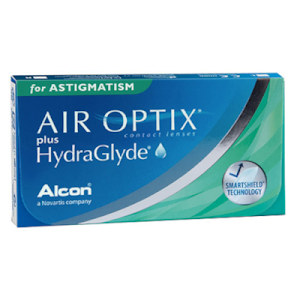Air Optix Plus Hydraglyde for Astigmatism 6er Packung