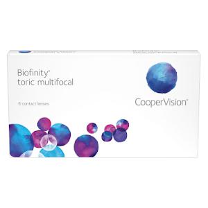 Biofinity Toric Multifocal 6er Packung