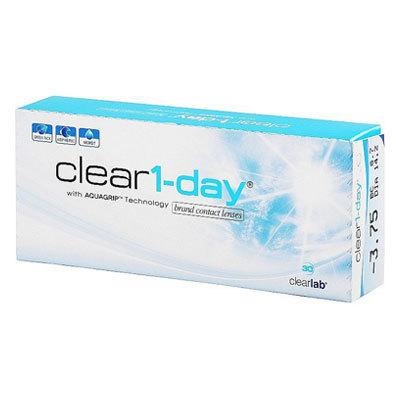 Altes Verpackungsdesign der Clear-1-day