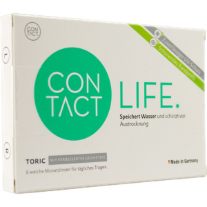 Contact Life Toric 6er Packung