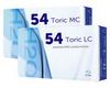 Extreme H2O 54% Toric Kontaktlinsen