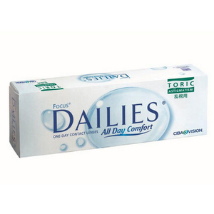 Focus Dailies All Day Comfort Toric 30er Packung