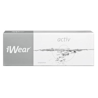 Clariti 1 Day Toric ist iWear Activ Astigmatism bei Apollo-Optik