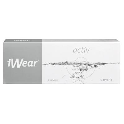 Clariti 1 Day Multifocal ist die iWear Activ Presbyopia bei Apollo-Optik