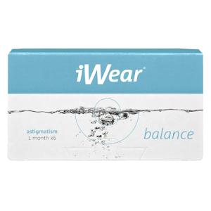 iWear Balance Plus Astigmatism 6er Packung