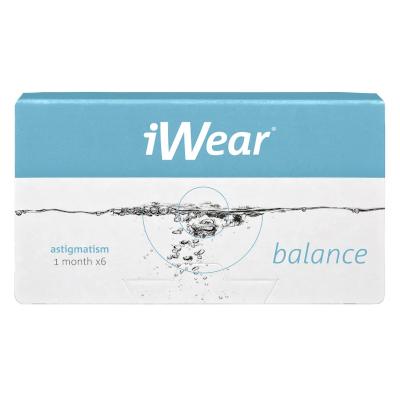 Avaira Vitality Toric als iWear Balance Plus Astigmatism bei Apollo-Optik
