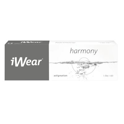 MyDay daily disposable toric ist die iWear Harmony Astigmatism bei Apollo-Optik