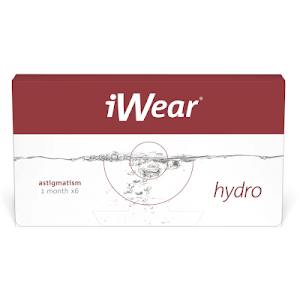 iWear Hydro Astigmatism 6er Packung