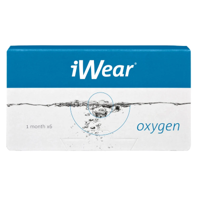 Biofinity, jetzt auch als iWear Oxygen bei Apollo-Optik