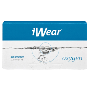 iWear Oxygen Astigmatism 6er Packung