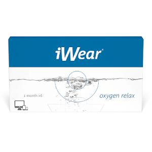 iWear Oxygen Relax 6er Packung