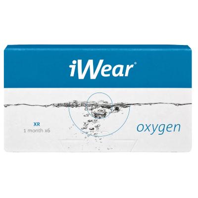 Biofinity XR ist auch als iWear Oxygen XR bei Apollo erhältlich