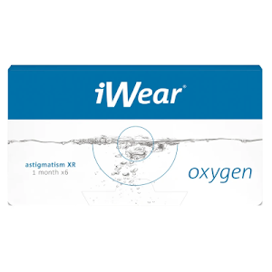 iWear Oxygen XR Astigmatism 6er Packung