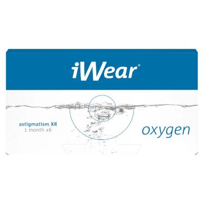 Biofinity XR Toric gibt es auch als iWear Oxygen XR Astigmatism bei Apollo-Optik