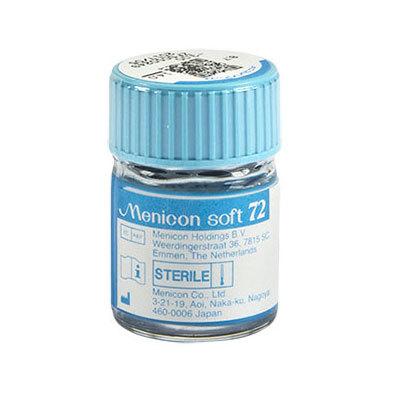 Menicon soft 72 im Fläschchen