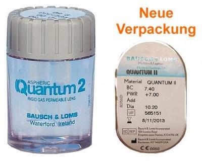 Alte Verpackung der Quantum 2 Kontaktlinse