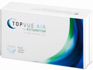 TopVue Air for Astigmatism 6er Packung