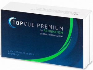 TopVue Premium for Astigmatism 6er Packung